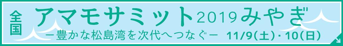 全国アマモサミット2019inみやぎ